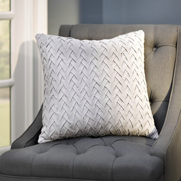 Eastlawn 100% Cotton Throw Pillow by Three Posts